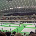 千駄ヶ谷の東京体育館。コートは6面。