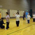 それぞれグループに分かれて講習が始まりました。