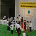 競技が終わり次第、随時、表彰式が行われます。