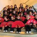 「36式楊式扇」を全員参加の2カ月特訓で頑張りました!