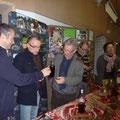 Du bissap préparé par Alain a été offert (Texte et photo : site web de Tankanto Machecoul)
