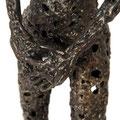 Never ending love - Size (cm): 23x71x23 - Weigth: 6,5 kg - metal sculpture
