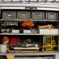 GR 2 mit hydraulischen Rettungssatz, Kettensäge, Sicherungszubehör