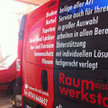 Fahrzeugbeschriftung Plot- und Vollverklebung