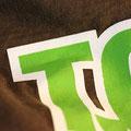Band T-Shirt Siebdruck 2farbig - Detail