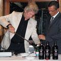 beim Portwein öffnen mit berühmtem Somelier