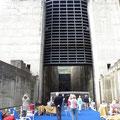 die mit 35 m höchste Schleuse Europas