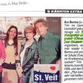 28.04.10  **360€ Reinerlös bei der Vernissage Zeit-Blicke in Launsdorf