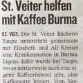 15.08.08 auch Kleine Zeitung macht Kaffee Aktion bekannter