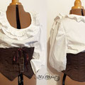 Commande My Oppa serre taille underbust corset steampunk