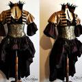 Commande tenue steampunk  dress costume rpg roleplay
