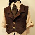 commande tenue homme Costume steam My Oppa Waistcoat equitation