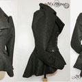 Commande My Oppa veste laine / Jacket steampunk wool