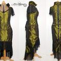 Commande My Oppa steampunk order skirt corset vêtement mariage wedding green