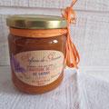 confiture d'abricots au safran 260 gr : 5 euros