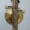"""Hausmusik"" | Verschiedene Instrumententeile, Holz, Metall"
