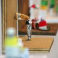 Farbtubenserie (Ausschnitt) | Holz, Farbtuben | je 22 x 27 cm