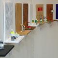 Farbtubenserie | Holz, Farbtuben | je 22 x 27 cm