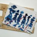 """Der Anschlag""  |  Holz, Nägel | 35 x 50 cm"