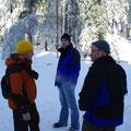 Marek, Clemo und Schappi