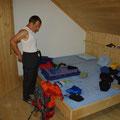 Marek im Matratzenlager