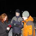 Birgit, Tommy und Marek