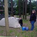 Jana und Sandra mit dem Wechsel Intrepid 2