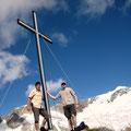 Auf dem Gipfel der Rostocker Egge, 2749m