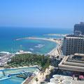 Blick aus der Hotellounge
