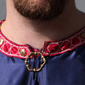 Detail Kragen (Foto: Constantin v. Bernuth)