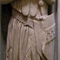 Wappenrock mit kleinen Applikationen: Epitaph Eberhards von der Mark, Frondenberg (1308)