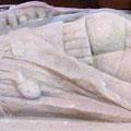 Mögliche Polsterkleidung: Unbekannter Ritter, in High Ercall (ca. 1300) [Foto von Graham Field www.themcs.org ]