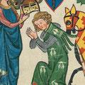 Ailettes: Manesse-Handschrift, Süddeutschland/Schweiz (ca. 1300-1340)