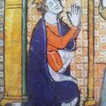 Knöpfe: Fragmente Kölner Antiphonar (1300-1325), Einzelblatt