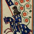 Wappenrock: Manesse-Handschrift, Süddeutschland/Schweiz (ca. 1300-1340)