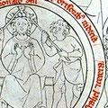 Beinlinge: Biblia pauperum (Cod. III 207), fol 6v