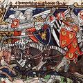 Ailettes in Flandern als Vergleich: Codex Hague, Flandern (ca.1320-1325)