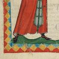 Riemchenschuhe: Codex Manesse, fol 32v