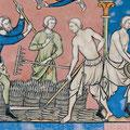 Beinlinge und Bruche: Maciejowski-Bibel, fol 12r