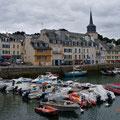Blick über den Hafen von Belle Ile