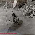Kurt Presslmayr 1962 im Faltboot Einer, Salom