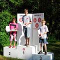 Gewinner der Schülerklasse im Sprint - Maximilian Orthofer