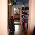 Unsere 2. Garderobe zum Garten