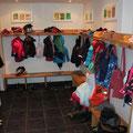 Garderobe vorne