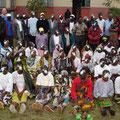 Gruppenfoto in Uwemba