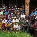 Gruppenfoto in Litembo