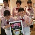2012.8 カフェスタッフ体験(福島市匠カフェ)