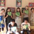 2009.7 AYA&MARI作品展(自由ヶ丘)