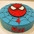 Geburtstagstorte Spider Man