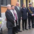 Foto ricordo per i rappresentanti dell'Emilia Romagna con N. Jobim